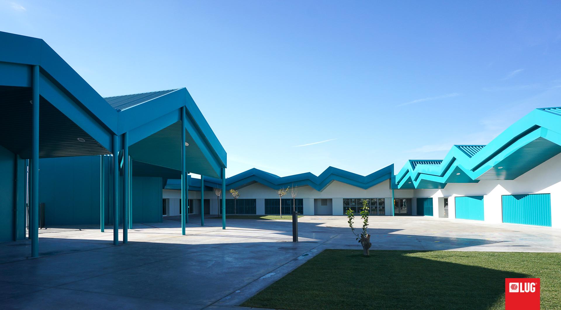 Colegio de Cuarte de Huerva, Zaragoza, Spanien - LUG