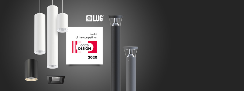 LUG luminaires in Good Design finals