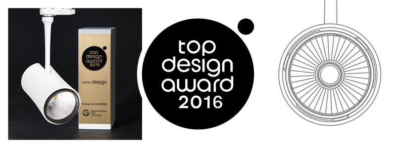 TOP DESIGN AWARD 2016 FOR TINO LB LED!